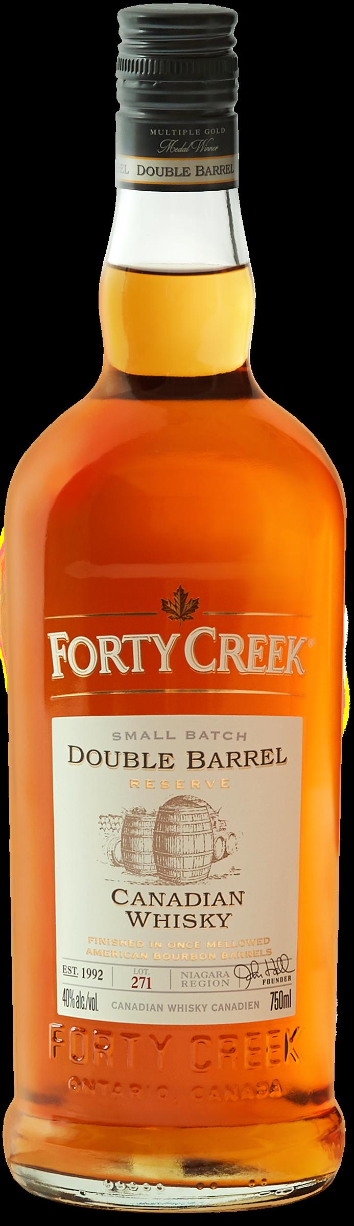 Forty Creek J Hall Dbl Barrel Rsv 750ml