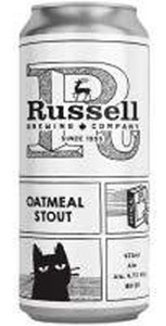 Russell Brewing Company Russell Brewing Oatmeal Stout 1892ml