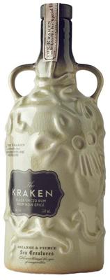 Proximo Spirits The Kraken Black Spiced Rum Ltd Ed 750ml