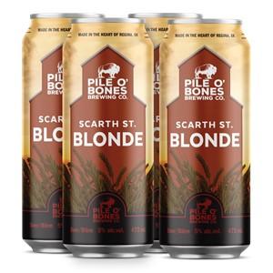 Pile O' Bones Brewing Company Pile O' Bones Scarth Street Blonde 1892ml