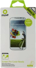 Muvit Samsung Galaxy S4 Cover Ready Screen Protector (2PK)