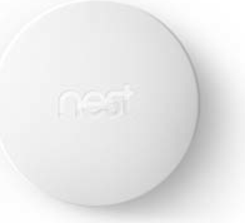 Google Nest Temperature Sensor White Smart Home