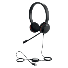 Jabra Evolve 20 Stereo Wired On Ear Headset
