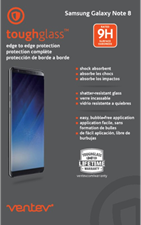 Samsung Galaxy Note8 edge to edge toughglass