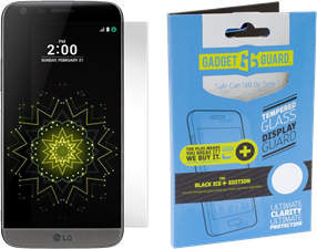Gadgetguard LG G5 Black Ice Plus Glass Screen Guard Screen Protector
