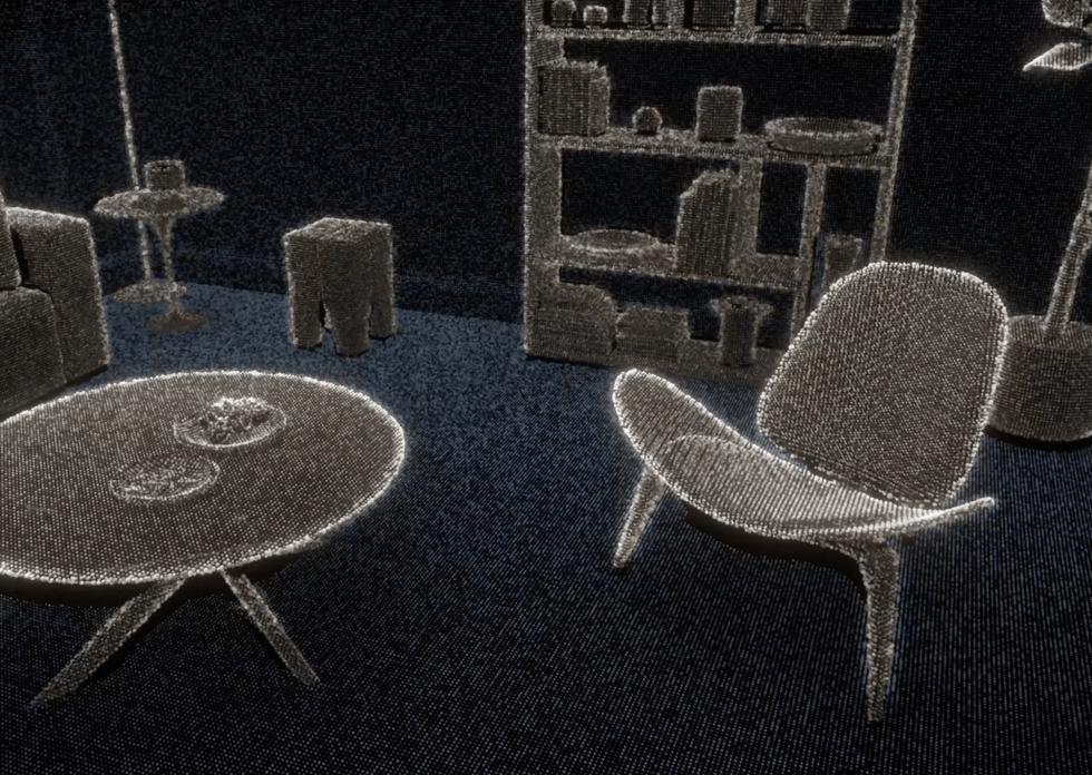 Visual Rendering using LiDAR Scanner
