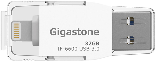 Gigastone Photofast 32GB iFlash Drive with Lightning Adapter