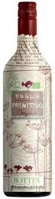 Vintage West Wine Marketing Uccellini Primitivo Puglia IGT Organic 750ml