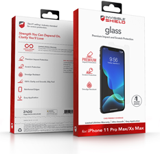 Zagg iPhone 11 Pro Max / Xs Max InvisibleShield Glass Screen Protector
