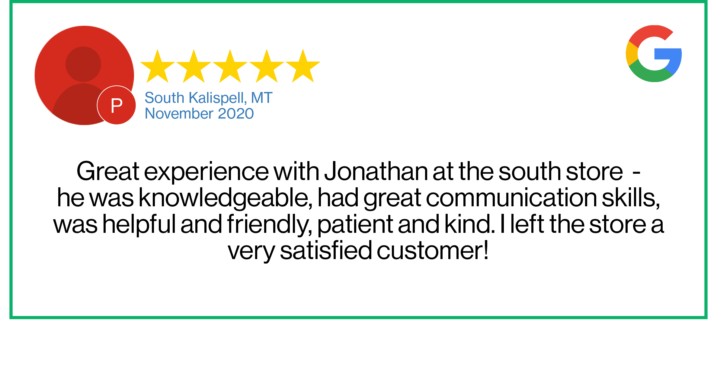 Check out this recent customer review about the Verizon Cellular Plus store in Kalispell, Montana.