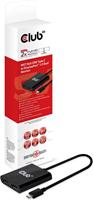 Club3D - USB-C 3.1 Gen 1 MST Hub to Display Port 1.2 Dual Monitor 4K30HZ