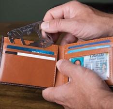 Nite Ize Financial Multi-purpose Card Slot Wallet Tool