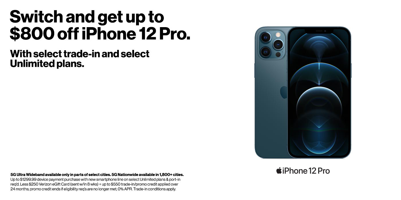 Apple iPhone 12 Pro is here!