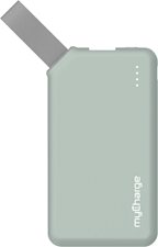 myCharge Go Mini 2600mAh Powerbank Fabric Loop