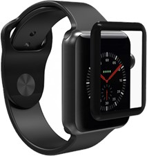 Zagg Apple Watch 42mm Invisibleshield Glass Curve Elite Full Adhesive Glass Screen Protector