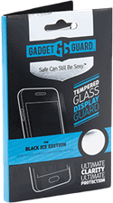 Gadgetguard Moto Z Droid/Play Black Ice Edition Tempered Glass Screen Guard