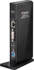 Club3D - USB 3.1 Gen 1 Dual Display 1200p Docking Station