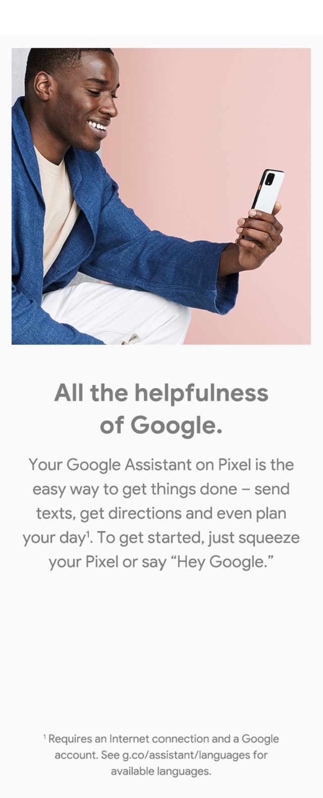 Google Assistant – All the helpfulness of Google