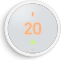 Google Nest Thermostat E White Smart Home