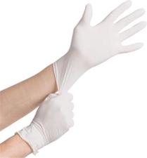 General PPE Sysco Large Powder Free White Vinyl Gloves