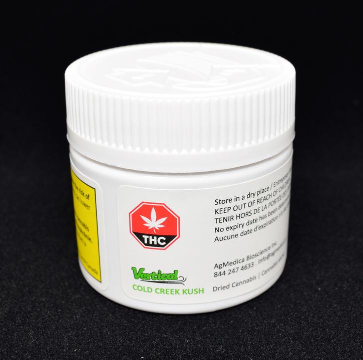 Cold Creek Kush - Vertical Cannabis - Dried Flower