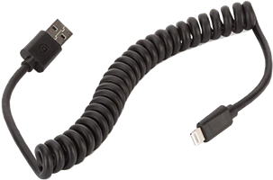 Griffin 4' Coiled USB to Lightning Charge-sync Cable