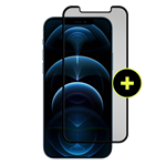 Gadget Guard - Black Ice Plus Glass Screen Protector For Apple Iphone 12  /  12 Pro - Clear