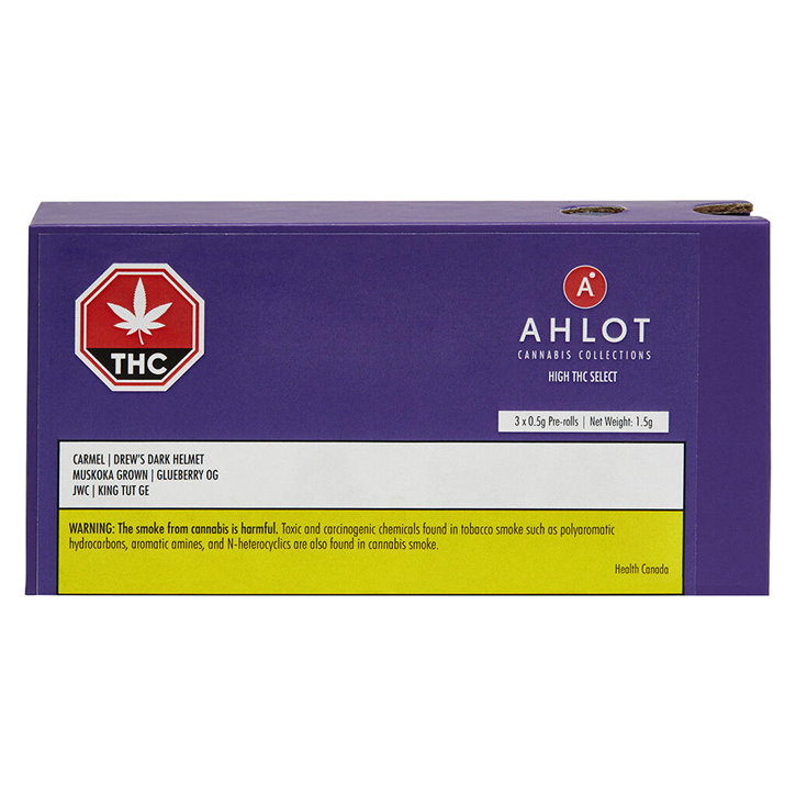 Cannabis Collections: High THC Select Pre-Rolls - AHLOT - Pre-Roll
