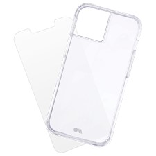 Case-Mate - Protection Pack Tough Case And Glass Screen Protector - iPhone 13