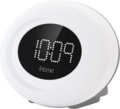 iHome Color Changing FM Alarm Clock w/USB