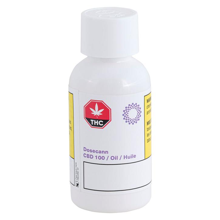 CBD 100 - Dosecann - Ingestible Oil