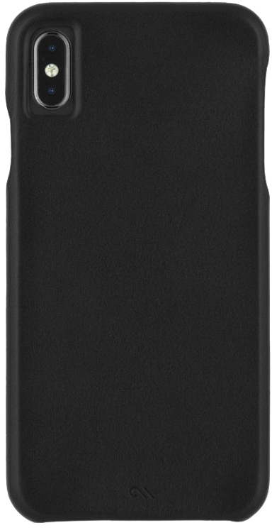 iPhone XS Max Barely There Leather Case
