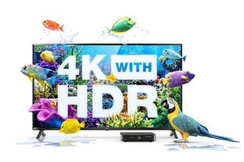 4K HDR on Optik TV