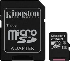 Kingston MicroSDXC Class 10 Flash Memory Card SDCS