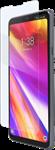 BodyGuardz LG G7 Pure2 AlumiTech Glass Screen Protector