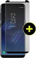 Gadgetguard Galaxy S8+ Black Ice Plus Cornice 2.0 Full Adhesive Curved Tempered Glass Screen Guard