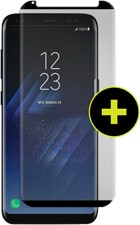 Gadget Guard Galaxy S8+ Black Ice Plus Cornice 2.0 Full Adhesive Curved Tempered Glass Screen Guard