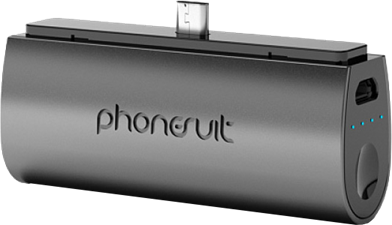PhoneSuit Flex XT 2600mAh microUSB Pocket Charger