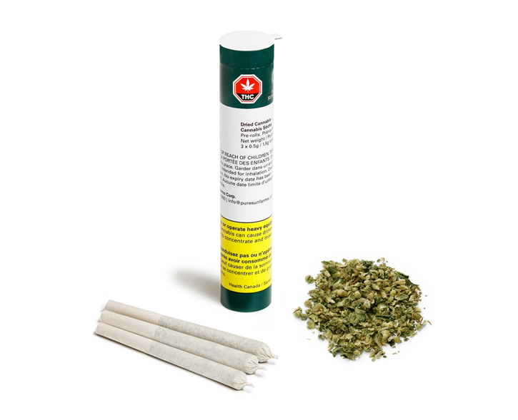 White Rhino - Pure SunFarms - Pre-Roll