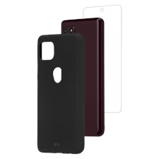 Case-Mate Protection Pack Tough Case And Glass Screen Protector For Motorola One 5g Ace