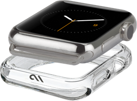 CaseMate 42-44mm Apple Watch Tough Clear Bumper