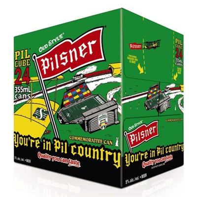 Molson Breweries 24C Pilsner 8520ml
