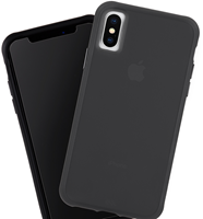 CaseMate iPhone XS Max Tough Matte Case Plus Glass Screen Protector