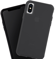 Case-Mate iPhone XS Max Tough Matte Case Plus Glass Screen Protector