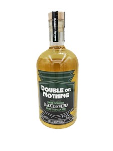 Outlaw Trail Spirits Double or Nothing Saskatcheweizen Whisky Style Grain Spirit 750ml