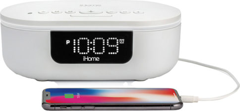 iHome - 360°UV-C Sanitizer w/BT, Wireless and USB Charging