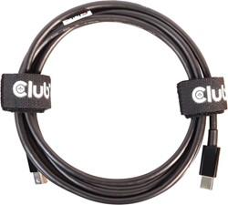 Club3D Club 3D - MiniDisplayPort 1.4 HBR3 Cable M/M 2m/6.56ft Black