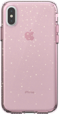 Speck iPhone XS Presidio Clear + Glitter Case