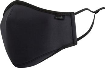 Moshi OnmiGuard Textile Mask Black (S)