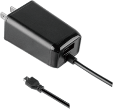 KEY Dual microUSB Wall Charger 3.4A